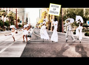 WITH HOUSE OF CIRQUE SIGN BY MICHAEL LERCH